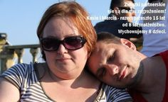 #Poland Civil partnerships are not a threat to us! Kasia & Marcin. We've been together for over 15 years, we've been married for 8 years. We are raising 8 children.