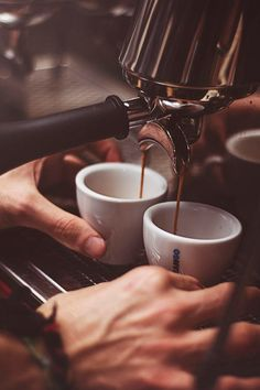 Espresso at the ready!