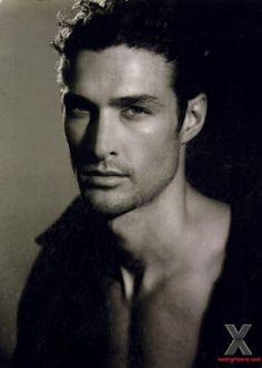 David Guillo, Spanish model, b. 1983, Madrid