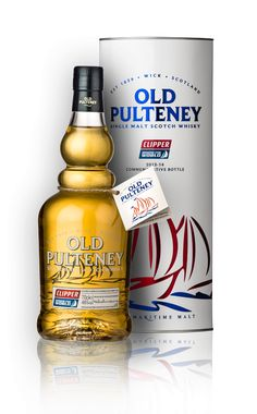 Old Pulteney Clipper single malt whisky available from Whisky please.