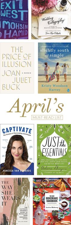 Find out what books we can't wait to dive into this month.