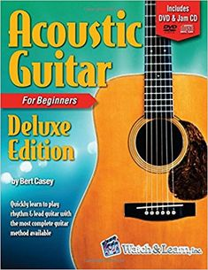 Amazon.com: Acoustic Guitar Primer Book for Beginners - Deluxe Edition (DVD/CD) (9781893907935): Bert Casey: Books