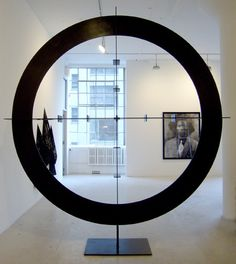 Rashid Johnson. Black Steel in the Hour of Chaos, 2008  Blackened gunmetal steel