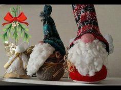 easy gnome tutorial patternout of socks Christmas Gnome, Christmas Stockings, Christmas Crafts, Christmas Decorations, Crafts To Make, Fun Crafts, Gnome Tutorial, Scandinavian Gnomes, Navidad Diy