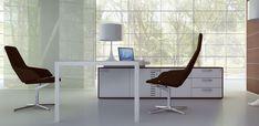 Italian Chairman Office Desk Iponti by Abbondi