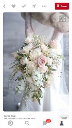 Gorgeous bridal bouquet!