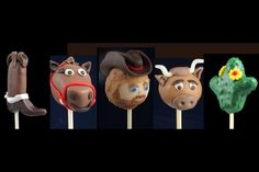 Cowboy Cake Pops- These are so cute... Reminds me of The Calgary Stampede!
