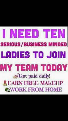 Let me share this fantastic opportunity with you. Amazing support and guidence aswell as training pages via social networking sites. Enquire at littledarlingsbys.b@hotmail.com xx