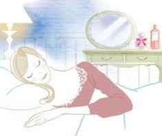 自分に合った安眠枕を使用することで、睡眠時も快適なリラックスした状態を保てる。