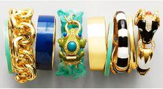 j. crew bracelets, spring 2012