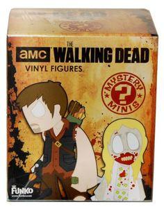 The Walking Dead Mini Mystery Figure Blind Box http://popvinyl.net #funko #funkopop #popvinyls