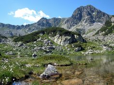 Bucura 2 Peak and Pietrele Lake, Retezat Mountains, Romania