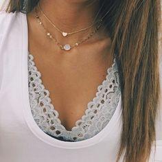Heart Chain Choker - Little Accessorie Stargaze Jewelry, Looks Style, My Style, Heart Chain, Heart Pendant Necklace, Heart Choker, Gold Choker, Heart Of Gold, Spring Summer Fashion