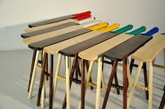 Pierre Ospina: Cricket Stools what to do with all your bats?
