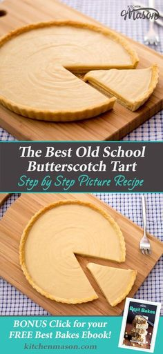 This authentic, old school Butterscotch Tart recipe is EXACTLY like you remember it! (Also known as caramel tart & gypsy tart. Brownie Desserts, Oreo Dessert, Mini Desserts, Easy Desserts, Delicious Desserts, Dessert Recipes, Healthy Desserts, Dessert Ideas, Yummy Food