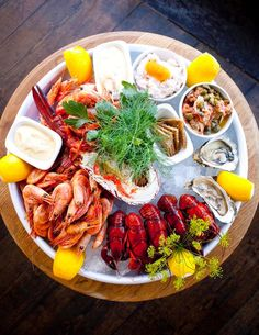 Locals love Restaurant J, in #Stockholm, for its traditional kitchen and unique location along the harbor. Order the seafood platter with fresh lobster, shrimp, and oysters.