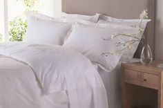 Almohadas muy blancas
