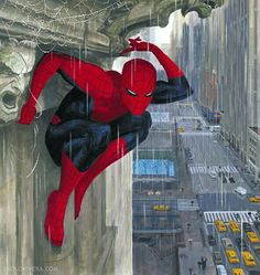 Mythos Spider-Man By: Paolo Rivera.