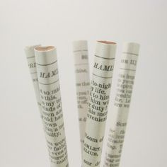 Custom Shakespeare Pencil Set by six0six design | Hatch.co