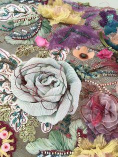 Handmade embroidery Vibrant, Embroidery, Handmade, Painting, Beauty, Women, Art, Art Background, Needlepoint