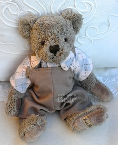 Miś Linus szary - BelleMaison.pl Teddy Bears, Shabby Chic, Toys, Animals, Home Decor, Activity Toys, Animales, Decoration Home, Animaux