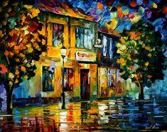 LITTLE SQUARE - PALETTE KNIFE Oil Painting On Canvas By Leonid Afremov http://afremov.com/LITTLE-SQUARE-PALETTE-KNIFE-Oil-Painting-On-Canvas-By-Leonid-Afremov-Size-24-x30.html?bid=1&partner=20921&utm_medium=/vpin&utm_campaign=v-ADD-YOUR&utm_source=s-vpin