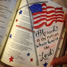Psalm 33:12 Blessed is the nation whose God is the Lord.