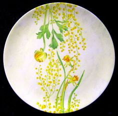 """Gien"" Plate for Spring and Summer"