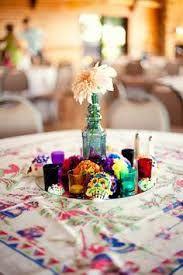 Rainbow Day of the Dead Wedding: James & Ashley | Halloween/Dia de ...
