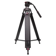 163.20$  Buy here - http://ali07j.worldwells.pw/go.php?t=1834788185 - Jie Yang  tripod jy0606 professional camera tripod jy-0606 SLR tripod damping head 75MM Compatible with Manfrotto 163.20$