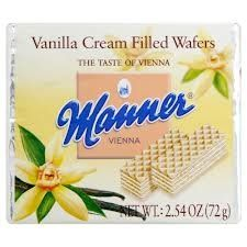 Manner Vanilla Cream Wafers at The Online Candy Shop. Manner Vanilla Cream Wafers are a delicious European treat. Vanilla Cream, Candy Shop, Manners, Junk Food, Gourmet Recipes, Breads, Foods, Chocolate, Baking