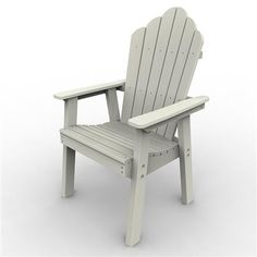 The Adirondack Dining Chair is manufactured using the highest quality products while utilizing the finest eco-friendly materials available. Malibu Outdoor Living poly-board outdoor furniture line is manufactured from recycled dairy and detergent bottles. Great for dining in comfort with your family and friends, built to last a lifetime of enjoyment.