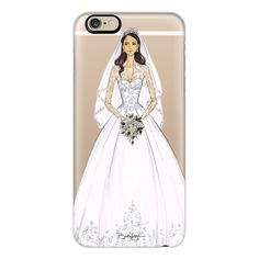 Duchess Kate - iPhone 7 Case, iPhone 7 Plus Case, iPhone 7 Cover,... (€36) ❤ liked on Polyvore featuring accessories, tech accessories, iphone case, apple iphone cases, iphone cases, slim iphone case and iphone cover case