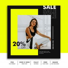 Square banner template for instagram, fa... | Premium Psd #Freepik #psd #banner #sale #template #fashion Poster Design Layout, Ad Design, Social Media Banner, Social Media Design, Origami Templates, Box Templates, Instagram Design, Instagram Posts, Image File Formats