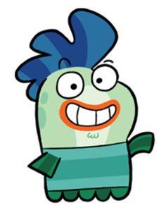 Fish Hooks Characters, Classic Cartoon Characters, Classic Cartoons, Disney Wiki, Disney Xd, Easy Disney Drawings, Cartoon Drawings, Fish Hook Cartoon, Cartoon Network Viejo
