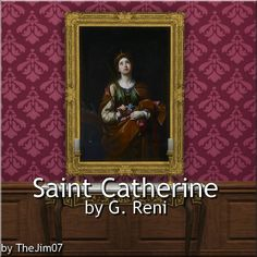 Mod The Sims - Saint Catherine by G. Reni