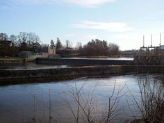 The Oswagatchie River Dam at Ogdensburg, NY.  Photo by Bob Gilbert of Tempe, AZ