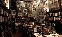 Mapping out antique bookshops to visit