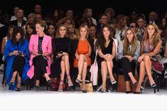 Miroslava Duma Photos Photos - (L-R) Virginie Courtin Clarins and Miroslava Duma attend the Mugler show as part of the Paris Fashion Week Womenswear Spring/Summer 2015 on September 27, 2014 in Paris, France. - Mugler : Front Row - Paris Fashion Week Womenswear Spring/Summer 2015