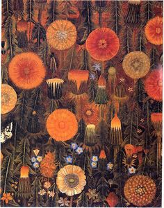 Dandelions by Sophie Grandval A totally different outlook but interesting