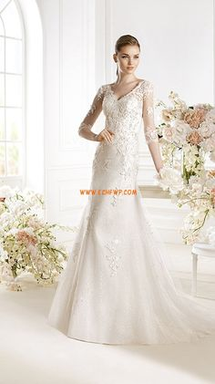 A-line Spring 2014 Tulle Wedding Dresses 2014 Wedding Dress Chiffon, Applique Wedding Dress, Wedding Dresses For Sale, Wedding Dress Sleeves, White Wedding Dresses, Cheap Wedding Dress, Bridesmaid Dresses, Lace Applique, Bridal Gowns