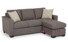 Stanton 702 Chaise Sectional Sleeper Sofa (Queen)