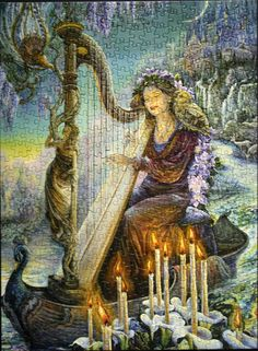 Minerva's Melody by Josephine Wall