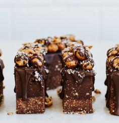 loverawtreats.com.au  Ferrero slice birthday cake PLEASE
