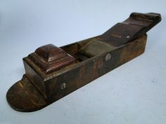 Unusual Old Woodworking Plane A Rickers R T Pike Very RARE Norris L K | eBay