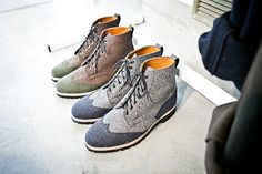ts(s) wool contrasting wingtips