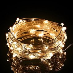 Excelvan 10m/33ft 100 LED String Lights Copper Wire LED Starry Light,USB Operated Waterproof Fairy Lights For Wedding,Home,Bedroom,Patio,Garden and Party,Holiday Decoration