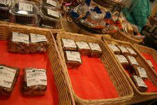 Gluten-free goodies at Lois's Natural Marketplace in Scarborough, Maine.