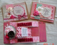 TPHH Handmade Assorted Greeting Cards Lot of 3 Phyllis B | eBay