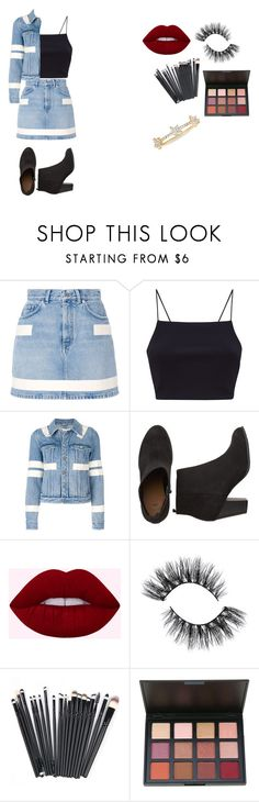 """Going Downtown"" by kaelyn-quessenberry on Polyvore featuring Givenchy and EF Collection"
